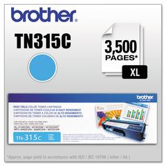 TN315C High-Yield Toner, Cyan