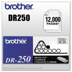 Brother DR250 Drum Unit, Black