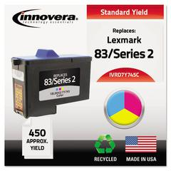 Innovera Remanufactured 7Y745 (Series 2) High-Yield Ink, Tri-Color