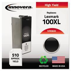 Innovera Remanufactured 14N0820 (100XL) High-Yield Ink, Black