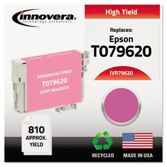 Innovera Remanufactured T079620 (79) High-Yield Ink, Light Magenta