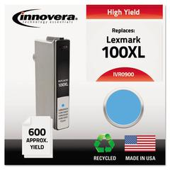 Innovera Remanufactured 14N0900 (100XL) High-Yield Ink, Cyan