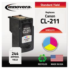 Innovera Remanufactured 2976B001 (CL-211) Ink, Tri-Color