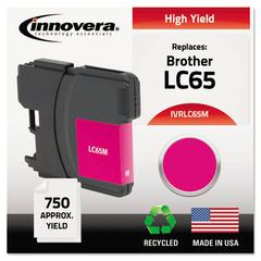 Innovera Remanufactured LC65M High-Yield Ink, Magenta