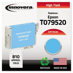 Innovera Remanufactured T079520 (79) High-Yield Ink, Light Cyan
