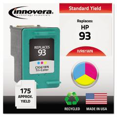 Innovera Remanufactured C9361WN (93) Ink, Tri-Color