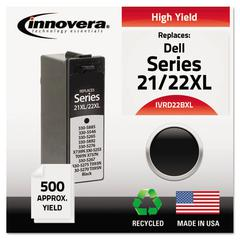 Remanufactured 330-5885 (21XL/22XL) High-Yield Ink, Black