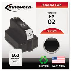 Innovera Remanufactured C8721WN (02) Ink, Black