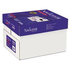 Navigator Premium Multipurpose Paper, 97 Brightness, 24lb, 11 x 17, White, 2500/Carton