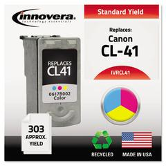 Innovera Remanufactured 0617B002 (CL-41) Ink, Tri-Color