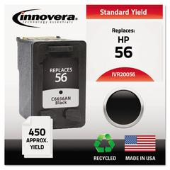 Remanufactured C6656AN (56) Ink, Black