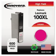 Innovera Remanufactured 14N0901 (100XL) High-Yield Ink, Magenta
