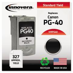 Remanufactured 0615B002 (PG-40) Ink, Black