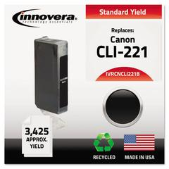 Remanufactured 2946B001 (CLI-221) Ink, Black