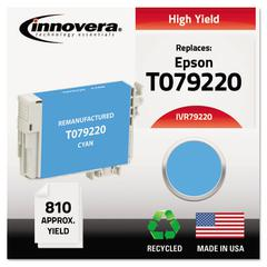 Innovera Remanufactured T079220 (79) High-Yield Ink, Cyan