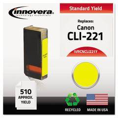 Innovera Remanufactured 2949B001 (CLI-221) Ink, Yellow