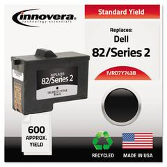 Remanufactured 7Y743 (Series 2) High-Yield Ink, Black