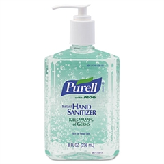PURELL Advanced Instant Hand Sanitizer Gel, Fresh Scent, 8 oz Bottle