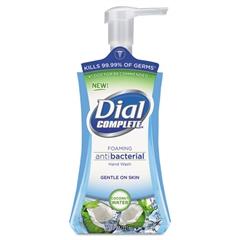 Dial Antibacterial Foaming Hand Wash, Coconut Waters, 7.5 oz Pump Bottle