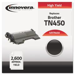 Innovera Remanufactured TN450 High-Yield Toner, Black