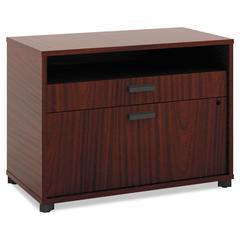 Manage Series File Center, Laminate, 30w x 16d x 22h, Chestnut