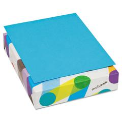 BriteHue Multipurpose Colored Paper, 20lb, 8 1/2 x 11, Blue, 500 Sheets