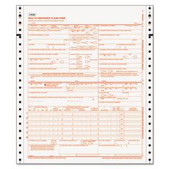TOPS Centers for Medicare and Medicaid Services Forms, Two-Part, 1500 Forms