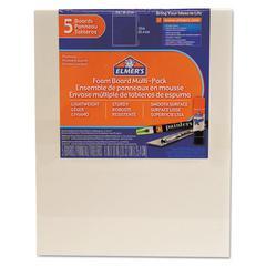 White Pre-Cut Foam Board Multi-Packs, 8 x 10, 5/PK