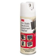 3M Antistatic Electronic Equipment Cleaner, Oil/Wax-Free, 10oz Aerosol