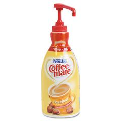Liquid Coffee Creamer, Hazelnut, 1500mL Pump Bottle