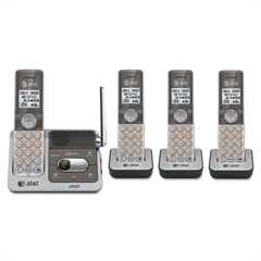 AT&T CL82401 Cordless Digital Answering System, Base and 3 Additional Handsets