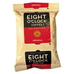 Eight O'Clock Regular Ground Coffee Fraction Packs, Original, 2oz, 42/Carton