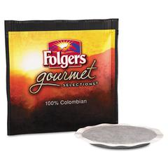 Gourmet Selections Coffee Pods, 100% Colombian, 18/Box