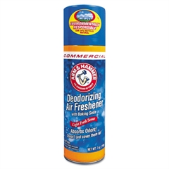 Baking Soda Air Freshener, Aerosol, Light Fresh Scent, 7oz