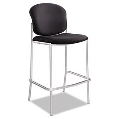 Safco Diaz Bistro Chair, Black Fabric