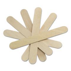 "Medline Sterile Tongue Depressors, Wood, 6"" Long, 100/Box"