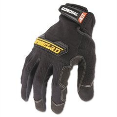 Ironclad General Utility Spandex Gloves, Black, Medium, Pair