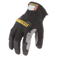 Ironclad Workforce Glove, Medium, Gray/Black, Pair