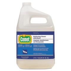 Disinfecting Cleaner w/Bleach, 1 gal Bottle, 3/Carton