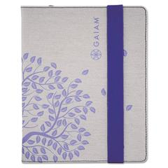 Allsop Gaiam Multi-Tilt Folio Case for iPad/iPad 2, Tree of Life, Plum