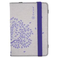 Gaiam Multi-Tilt Folio Case for iPad mini, Tree of Life, Plum