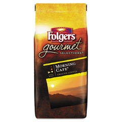 Folgers Gourmet Selections Coffee, Ground, Morning Café, 10oz Bag