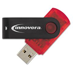 USB 2.0 Flash Drive, 64 GB, Red