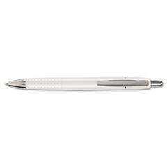 Pilot Axiom Premium Ball Point Pen, Blue Ink, Pearl White Barrel, 1mm, Gift Box