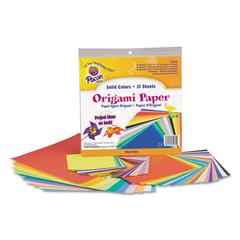 Origami Paper, 30 lbs., 9-3/4 x 9-3/4, Assorted Bright Colors, 55 Sheets/Pack