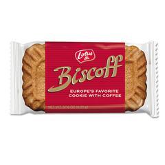 Biscoff Cookies, Carmel, .22oz, 100/Box