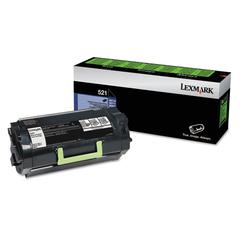 52D1000 Toner, 6000 Page-Yield, Black