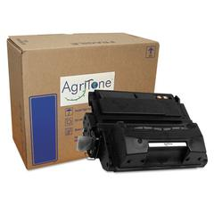 Agritone 42XBIO Compatible, Reman, Q5942X (42X) High-Yield Toner, 20000 Page-Yield, Black