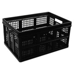 Universal Filing/Storage Tote Storage Box, Plastic, 20-1/8 x 14-5/8 x 10-3/4, Black