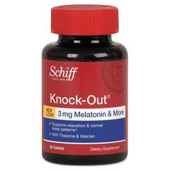 Schiff Knock-Out Tablet, 50 Count